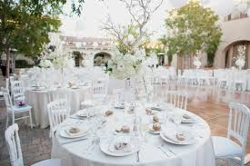 linens for weddings modern wedding at a courtyard in southern california