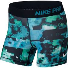 light blue nike shorts nike pro girls shorts light blue fury black white 860080 433 bike24