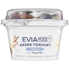 evia yoghurt pod trail mix 170g woolworths