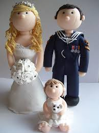 royal navy wedding cake toppers personalised and hancrafted from