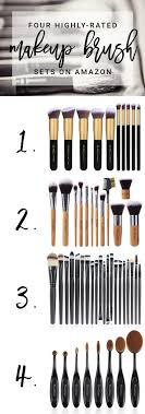 the best makeup brush sets on amazon so many steals