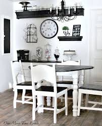 black and white kitchen table french farmhouse kitchen table one more time events