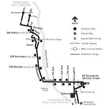 Portland Trimet Map by Trimet Bus Service Returns To Sellwood Bridge In December After 12