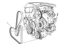 repair instructions on vehicle drive belt replacement le5 or