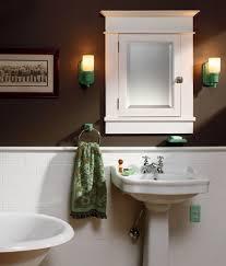1920 bathroom medicine cabinet the arts crafts bath the first modern bathroom