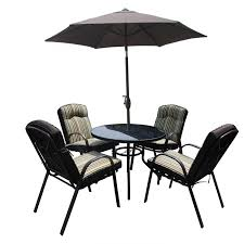4 Seater Patio Furniture Set - garden furniture sets charlies direct