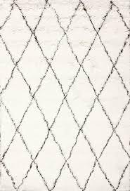 hand made geometric moroccan shag rug contemporary area rugs