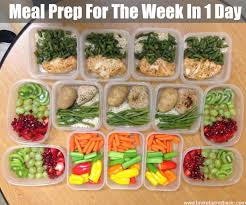 meal prep 101 meal prep for the week in 1 day broke but not