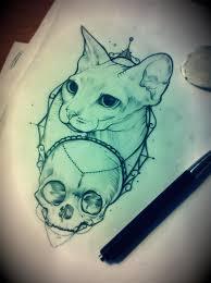 973 best cat tattoos images on pinterest cat tattoos dream
