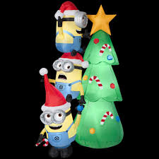 inflatable minions for christmas holidays santa u0027s site