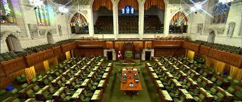 chambre de parlement du canada la chambre des communes