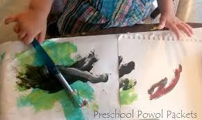 rainstorm art project rain rain go away preschool powol packets
