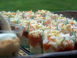 cuisine verrine recette de verrine thon tomates surimi