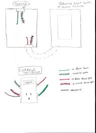 basic switch wiring diagram outlet light unbelievable combo