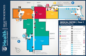 medical center at augusta university building maps 1st floor