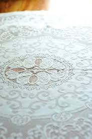 lace tablecloths something vintage rentals