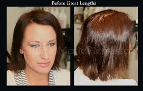 great hair extensions great lengths hair extensions before after photos studio