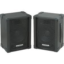 case outlet speaker cabinets kustom pa kpc10 10 pa speaker cabinet with horn pair guitar center