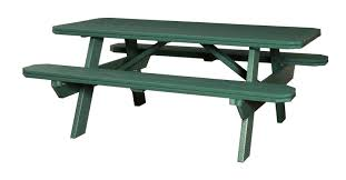 Patio Table And Bench Vermont Picnic Tables Patio Tables U0026 Benches Order At