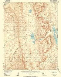Declination Map Collection C 007 Usgs Topographic Map Of Boulder Lake N M At