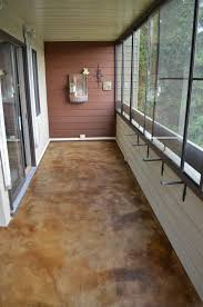 Concrete Staining Pictures by Mode Concrete Rich Patinaed Antique Brown Stained Concrete Patio