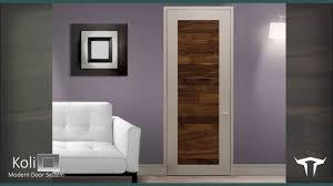 the koli modern door system youtube