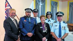 service awards for gunnedah officers namoi valley independent