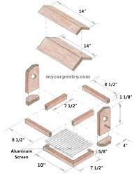 Free Woodworking Plans Easy by Wooden Bird Feeder Plans These Easy To Make And Free Bird