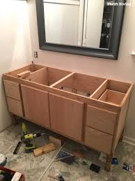 building a diy bathroom vanity part 5 making cabinet doors