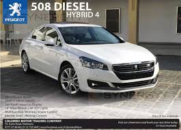 peugeot 105 for sale peugeot 508 diesel hybrid 4 now available in sri lanka for rs 8 9