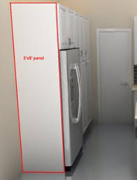 refrigerator cabinet side panels ikea s over the fridge cabinet ikea cabinets refrigerator and