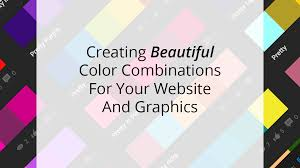 creating beautiful website color combinations in three easy steps
