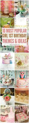birthday themes 10 most popular girl 1st birthday themes catch my party