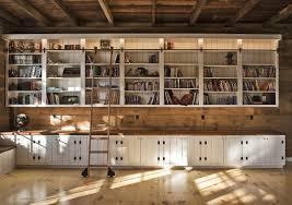 rustic bookcase with ladder thesecretconsul com