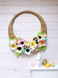 make easter wreath u2039 sewyeah
