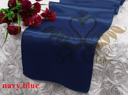 Navy Blue Table Runner Discount Wedding Table Runners Navy Blue 2017 Wedding Table