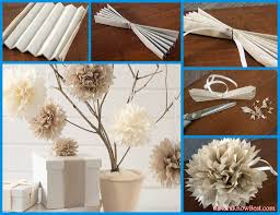 easy diy paper tissue flower decorations best