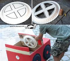 krokotak diy cardboard box car