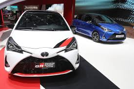 cm toyota new toyota yaris grmn supercharged with 205hp gets in on the