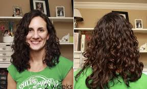 easy curling wand for permed hair curly girl method before and after a steed s life