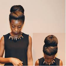 black hair buns 4 natural hair bun styles that are absolutely stunning natural