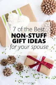 7 of the best non stuff gift ideas for your spouse diy craft