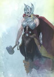 marvel s new thor is a woman and i m all for it straitened