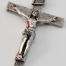 rosary crucifix padre pio rosary antique silver plated brown wood free