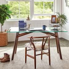 World Market Dining Room Table by Glass And Wood Kayden Desk World Market