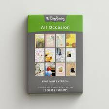 all occasion kjv 12 boxed cards 12 designs dayspring