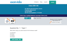 200 125 cisco real exam questions 100 free exam labs