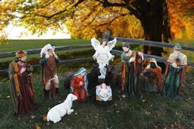 nativity outdoor 39 outdoor nativity set large creche figures for church use