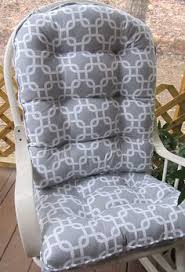 Rocking Chair Cushion Sets For Nursery Free Ship Rocking Chair Or Glider Cushions Set In Navy White
