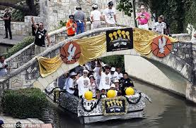 nba chions san antonio spurs float through town during parade